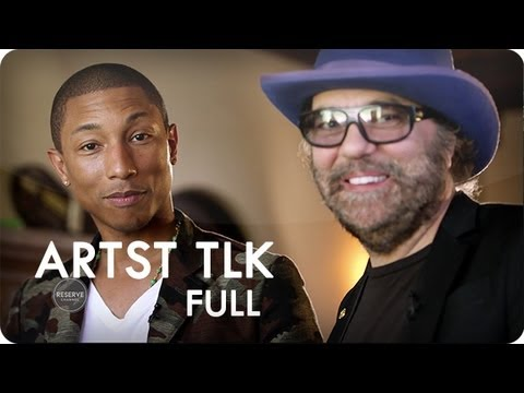 Reserve Channel   ARTST TLK With Pharrell Williams: Daniel Lanois | Video
