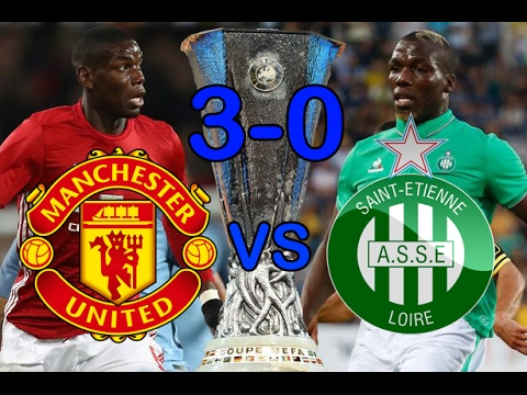 Manchester United vs Saint Etienne 3-0 | All Goals and Extended Highlights | Ibrahimović Hattrick