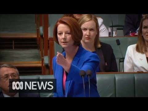 Julia Gillard - Australian Prime Minister Julia Gillard has hit back at Opposition Leader Tony Abbott's call for Peter Slipper to be removed as Speaker, attacking Mr Abbott ...