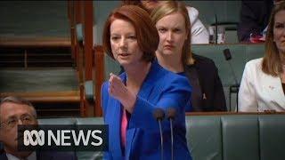 """Video Julia Gillard's """"misogyny speech"""" in full MP3, 3GP, MP4, WEBM, AVI, FLV Oktober 2018"""