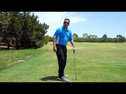 Hip Turn and Knee Flex-Golf Swing