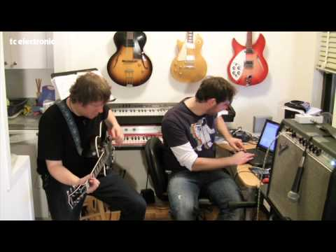 Matt Beck doing TonePrints for TC Electronic's Flashback Delay