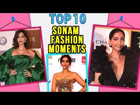 Sonam Kapoor Top 10 Best FASHION MOMENTS At Events