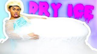 EXTREME DRY ICE BATH CHALLENGE!