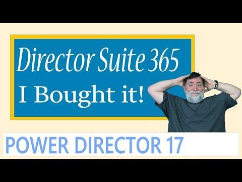 Powerdirector 17 - Director Suite 365 I Bought It