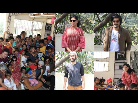 Ali Fazal & Richa Chadda Spend Time With NGO Kids