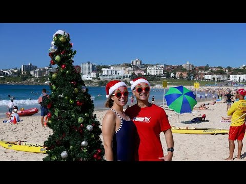 Αυστραλία: Χριστούγεννα στις παραλίες… με καύσωνα