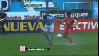 Gol De Martínez. Temperley 0 - Huracán 1. Fecha 12. B Nacional. Fútbol Para Todos