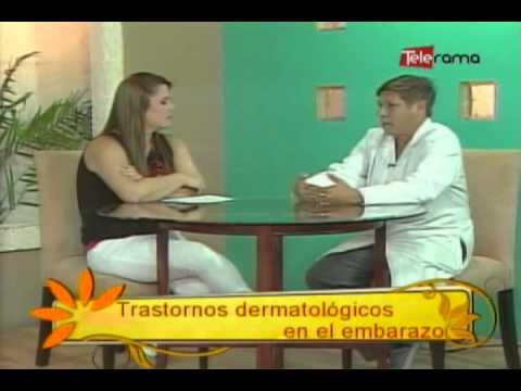 Trastornos dermatológicos en el embarazo