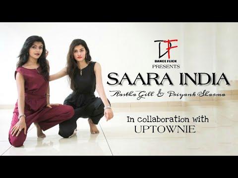 Saara India - Aastha Gill ft. Priyank Sharma   Featuring Uptownie  Dance Flick