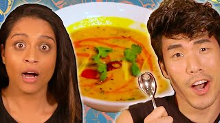 The Try Guys $850 Indian Food Challenge ft. Lilly Singh