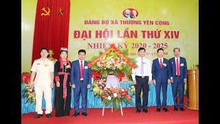 Đại hội Đảng bộ xã Thượng Yên Công lần thứ XIV, nhiệm kỳ 2020-2025