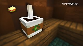 Minecraft | How to make a Starbucks Frappucino