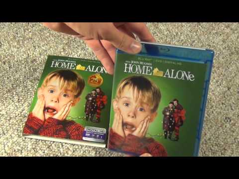 Home Alone 25th Anniversary Edition Blu-Ray Unboxing