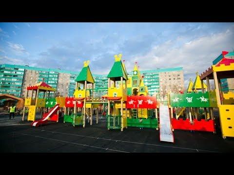 детская игровая площадка видео для детей чилдрен'с плаигроанд видео фор чилдрен