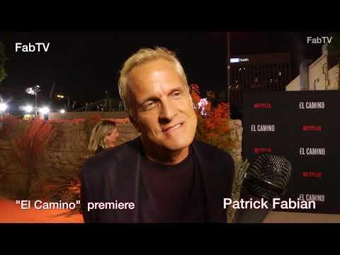 Patrick Fabian talks at