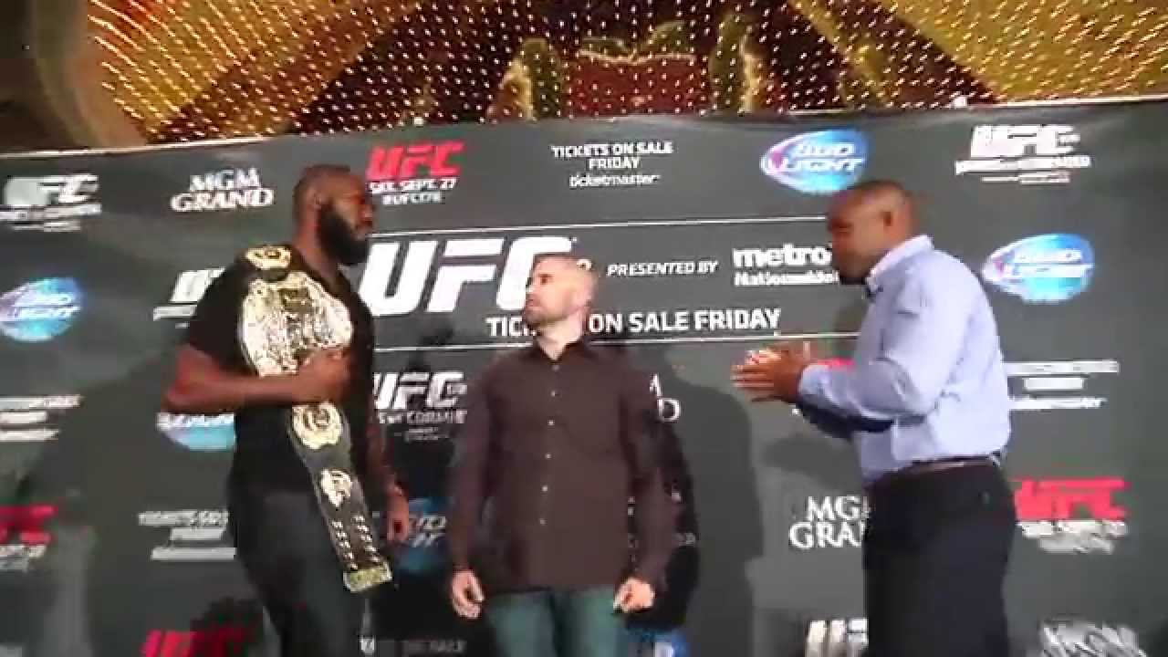 UFC Media Day: Jones and Cormier Brawl