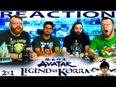 "Legend of Korra 2x1 REACTION!! ""Rebel Spirit"""