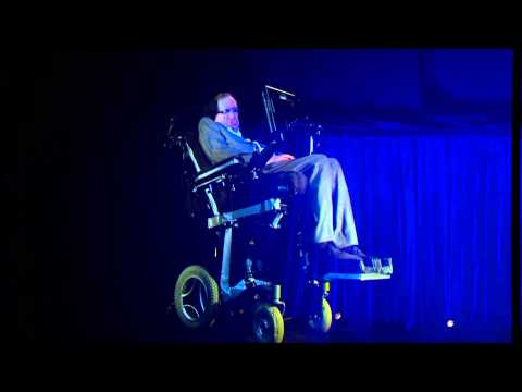 "Stephen Hawking Says ""Look At The Stars And Not At Your Feet"" (Ideas At The House)"
