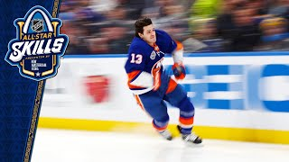 Barzal edges out McDavid for Fastest Skater crown by NHL