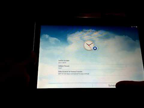 comment demarrer galaxy tab 2