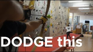 Archer vs Climber by Bouldering Bobat