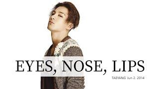 눈,코,입(eyes, nose, lips) TAEYANG RISE 2014.06.03 Enjoy! lyrics video with black text on white backgound If you have a request...