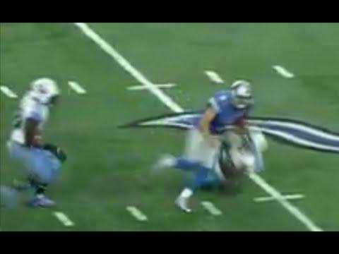 Lions's QB Matthew Stafford TRUCKS & HIT Helpless Defensive Back vs Titans