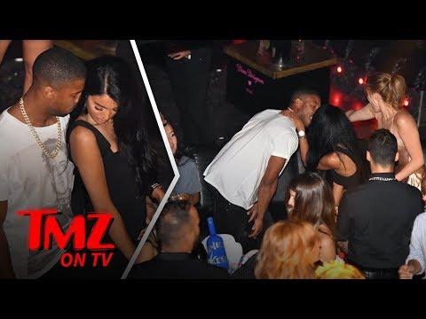 Michael B. Jordan Gets Handsy With HOT Rumored Girlfriend   TMZ TV