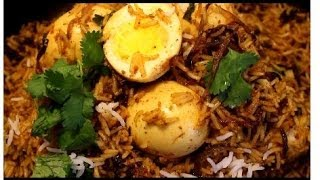 Thattukada Egg Biryani (Egg Biryani)  Videos Recipe