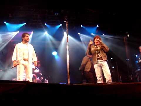 Thiago Copla canta com Daniel em Ventania/Pr