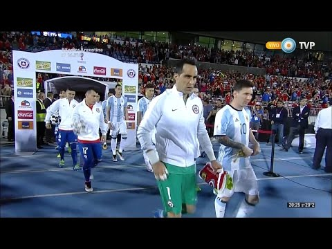 Chile vs Argentina - Eliminatorias (2016) - Partido completo