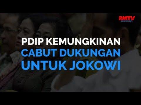 PDIP Kemungkinan Cabut Dukungan Untuk Jokowi