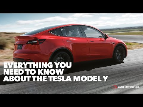 Everything you need to know about the Tesla Model Y