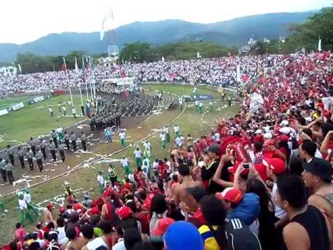salida de disturbio rojo bogota - Disturbio Rojo Bogotá - América de Cáli