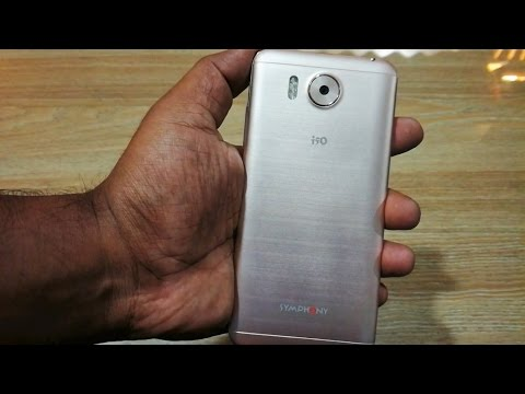 Symphony I50 Hands On  Review By (AF)