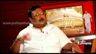 Exclusive Interview With M.K.Alagiri In Puthiya Thalaimurai's Agni Paritchai - Part 1
