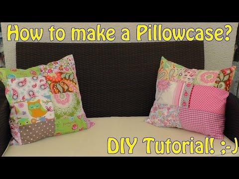 patchwork - come realizzare una federa per cuscino