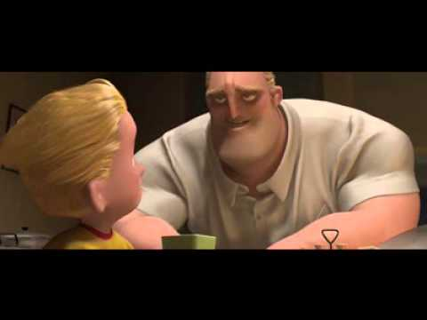 The Incredibles dinner scene