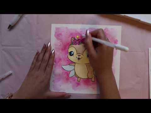 How to Draw a Cute Fairy Kitten with Flavia Chan