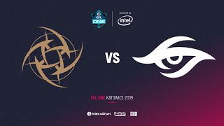 Nip vs Team Secret, ESL One Katowice 2019, bo2, game 2, [GodHunt]