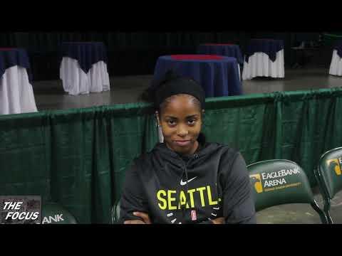 WNBA Finals Game 3 - Seattle Storm PG Jordin Canada