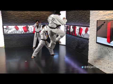 taekwondo - http://fightnetwork.com/ - Hailing from Seoul, South Korea, the Taekwondo Diplomacy Foundation, along with Black Belt World's Master Chang, visited Fight Net...
