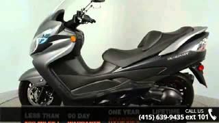 8. 2013 Suzuki Burgman 400 ABS Only 3 (three) miles !! - SF ...