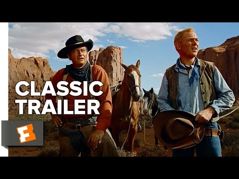 The Searchers (1956) Official Trailer - John Wayne, Jeffrey Hunter Movie HD