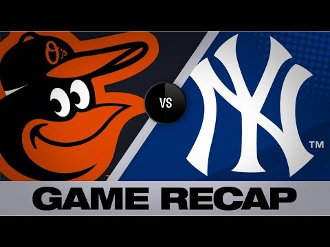 Video: Sanchez homers as Yanks sweep the O's | Orioles-Yankees Game Highlights 8/14/19