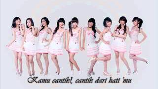 Video Beautiful - Cherry Belle ( Cantik ) With Lyrics MP3, 3GP, MP4, WEBM, AVI, FLV April 2018