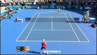 Tennis Highlights, Video - [HD]M Kukushkin (KAZ) vs L Mayer (ARG) Highlights 2015 Apia Sydney International