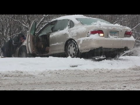 OUT - Tips to managing the slick roads as dangerous weather hits the U.S..