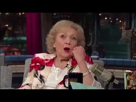 Betty White   Harmless Incest   David Letterman